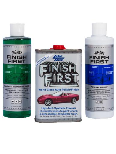 Finish First® 3 Piece Kit – Option #1